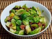 Boiled Brussel Sprouts And Bacon