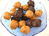 Butterscotch Coated Bourbon Bonbons