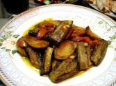 Brinjal With Spicy Gravy
