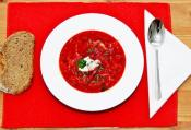 Borscht Without Meat