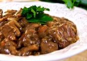 Braised Beef In Horseradish Sauce