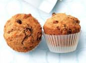 Raisin Bran Muffins Sweetened With Honey