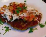 Breaded Chicken Bruschetta