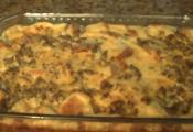 Egg And Sausage Baked Breakfast Casserole