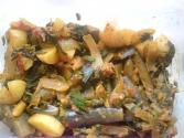 Brinjal Methi And Aloo Sabzi
