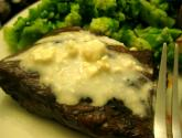 Tyson Beef Tenderloin Steaks With Blue Cheese Topping