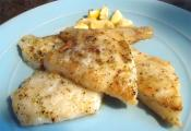 Broiled Flounder Fillets