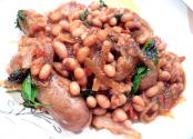 Brown Beans With Sausage