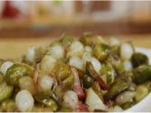 Brussels Sprouts With Bacon And Pearl Onions