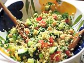 Bulgar Mint Salad