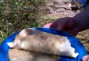 Outdoor Burritos Ranchero Chile Verde
