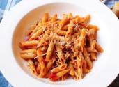 Penne Pasta With Spicy Sausage Ragu