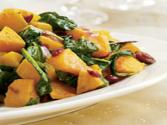 Wegmans Butternut Squash With Baby Spinach