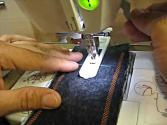How To Sew A Button Hole Using A Sewing Machine And Buttonhole Foot (tutorial)