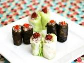 Korean Food: Cabbage And Perilla Rolls