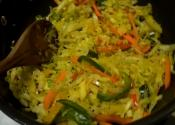Sambharo - Stir Fry Cabbage Salad
