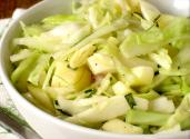 Cabbage Salad With French Dressing