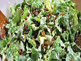 Vegan Caesar Salad With Bacon Bits