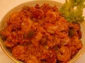Spicy Cajun Shrimp And Sausage Jambalaya