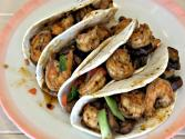 Smokingpit.com - Cajun Shrimp Tacos Cooked On The Scottsdale