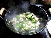 Calamari And Broccoli Stir-fry