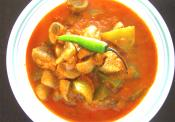Mushroom Capsicum Curry