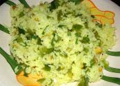 Capsicum Lemon Rice