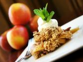 Apple-oatmeal Crunch