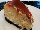 Lynn's Irish Cream (bailey's) Caramel Cheesecake -- Saint Patrick's Day