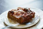 Caramel Topped Bread Pudding