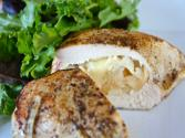 Caramelized Onions, Apples & Brie-stuffed Chicken