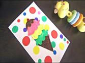 How To Make An Ice Cream Card