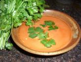 Carrot, Avocado & Cilantro Soup