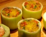 Carrot-stuffed Cucumbers