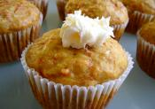 Carrot Muffins With Walnut Cream Centers
