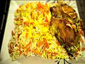 Carrot Rice (havij Polo) Persian Rice With Chicken