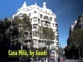 Casa Milà By Gaudi In Barcelona, Catalonia, Spain