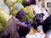 Tip For Roasting Purple & Green Cauliflower Tender