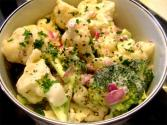 Cauliflower Salad With Dill And Cider