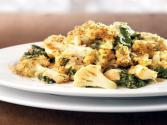 Cauliflower, Spinach & Chicken Gratin