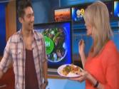 Chef Ronnie Woo Stops By Cbs2 Studios