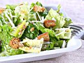 Classic Caesar Salad With Toasted Almonds