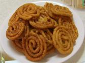 Chakri Or Murukku - Rice Spirals