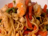 Charmed Seafood Noodle Bowl