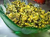 Cheera And Cheru Payar Thoran (green Amaranth And Moong Fry)