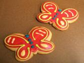 Cheese Biscuit Butterflies