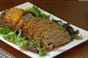 Beef Cheeseburger Meatloaf