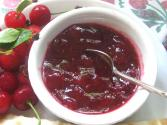 Quick Homemade Cherry Jam