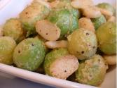 Brussel Sprouts With Water Chestnuts