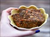 Veggie-packed Raw Chia Crackers - Healthy Raw Vegetable Crackers